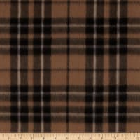 Fleece Prints Miles Plaid Tan