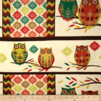 Holiday Hoot Fleece Hoot Red/Green