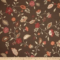 Jaclyn Smith 02105 Embroidered Lauren Garden Spice