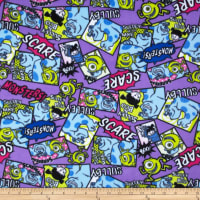 Disney's Monsters Inc. Fleece Purple