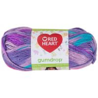 Red Heart Gumdrop Yarn 750 Grape