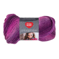 Red Heart Boutique Unforgettable Yarn 3950 Petunia