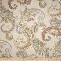Robert Allen @ Home Global Paisley Blush
