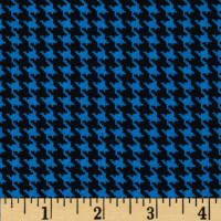 Spotlight Houndstooth Turquoise/Black