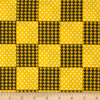 Spotlight Patchwork Golden Yellow