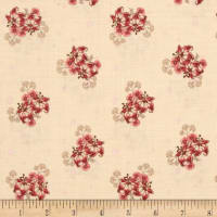 Penny Rose Romancing the Past Bouquet Beige