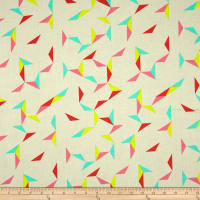 Cotton + Steel Moonlit Tangrams Cream