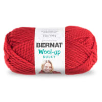 Bernat Wool Up Bulky Yarn 50707 Red
