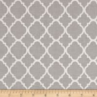 Quatrefoil Grey/White
