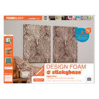 "Foamology Two Piece Design Foam Tile, Rigid 24"" x 18"" x .5"""