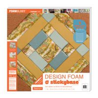 "Foamology One Piece Design Foam Criss Cross 24"" x24"" x 2"""