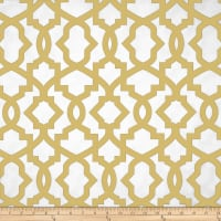 Premier Prints Sheffield Saffron Yellow