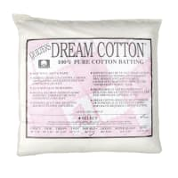 "Quilter's Dream Cotton White Select Batting (96"" x 93"") Double"