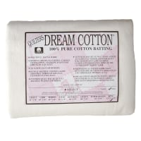 "Quilter's Dream Natural Cotton White Select Batting (122"" x 122"") King"