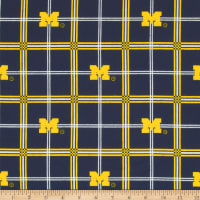 University of Michigan Flannel Plaid