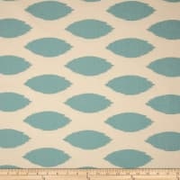 Premier Prints Chipper Village Blue/Natural