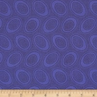 Kaffe Fassett Collective Aboriginal Dot Periwinkle