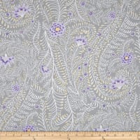 Kaffe Fassett Collective Ferns Grey