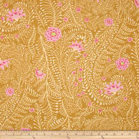 Kaffe Fassett Collective Ferns Yellow
