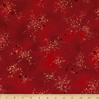 Laurel Burch Glitter Red Metallic