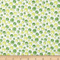 QT Fabrics Under the Sea Bubbles Green