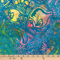 Artisan Batiks Totally Tropical Fish Regatta