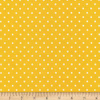 Timeless Treasures Polka Dots Yellow