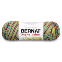 Bernat Super Value Ombre Yarn Techno