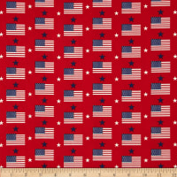 Made in the USA Flags & Stars Red, White, Blue