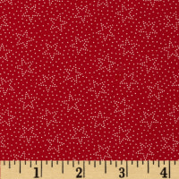 Made in the USA Dotted Stars Red