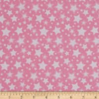 Dreamland Flannel Starry Night Pink Carnation