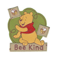 Disney Winnie The Pooh Iron On Applique Bee Kind