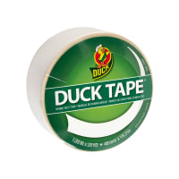 "Colored Duck Tape 1.88"" x 20yd-Winking White"