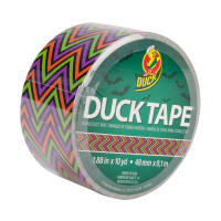 "Holiday Duck Tape 1.88"" x 10yd-Scary Chevron"