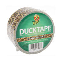 "Patterned Duck Tape 1.88"" x 10yd-Leopard"