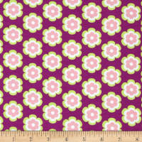 Riley Blake Vivid Leilani Knit Grape