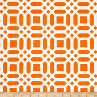 Riley Blake Home Decor Vivid Lattice Tangerine