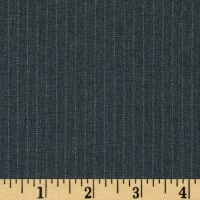Kaufman 1/4 '' Lexington Pinstripe Grey