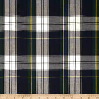 Kaufman House of Wales  Lawn Plaid Blue