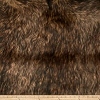 Shannon Lux Fur Golden Wolf Gold/Brown