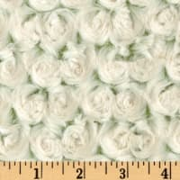 Shannon Minky Luxe Cuddle Frosted Rose Olive/Beige