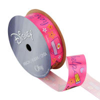 "7/8"" Doc McStuffins Ribbon Here to Help Pink"