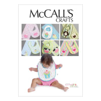 McCall's M6478 Bibs and Burp Cloths Pattern OSZ (One Size)
