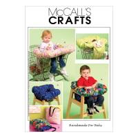 McCall's M5721 3-In-1 Shopping Cart Cover Pattern OSZ (One Size)