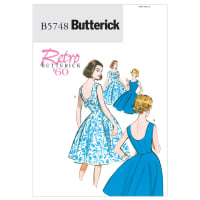 Butterick B5748 Misses'/Misses' Petite Dress Pattern A5 (Sizes 6-14)