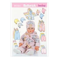 Butterick B5584 Infants' Jacket, Overalls, Pants, Hat and Mittens Pattern Size LRG