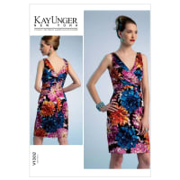 Vogue Misses' Dress Pattern V1302 Size A50