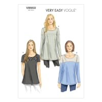 Vogue Misses' Tunic Pattern V8950 Size A50