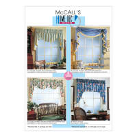 McCall's M3089 2 Hour Valance Classics Pattern OSZ (One Size)