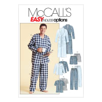 McCall's M4244 Men's Robe, Belt, Tops, Pants and Shorts Pattern Size 0Y0